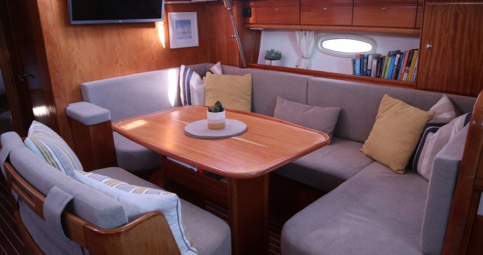 Boat rental Nydri cheap Bavaria 46 Cruiser