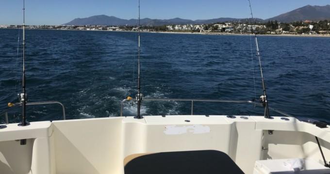 Boat rental Puerto Banús cheap Rodman 1250 Sport