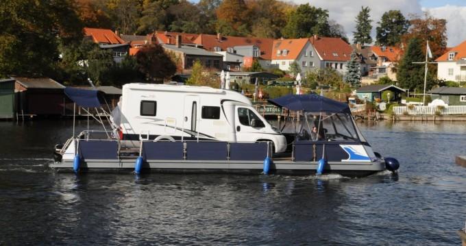Rental Canal boat in Jabel - Technus Trimaran-Schwimmplattform
