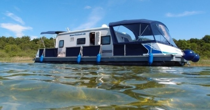 Rental Canal boat in Jabel - Technus Water-Camper 1200
