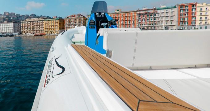 Rental RIB Italiamarine with a permit
