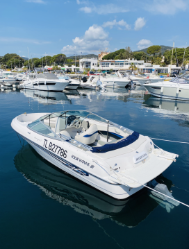 Hire Motorboat with or without skipper Four Winns Les Issambres
