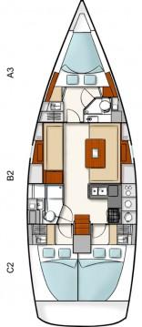 Rental yacht Athens - Hanse Hanse 400 on SamBoat