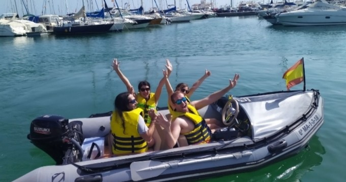 Hire RIB with or without skipper Zodiac Puerto Marina Benalmadena