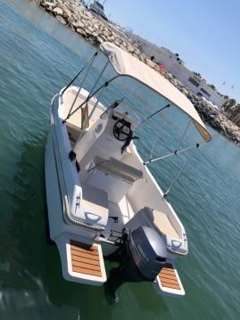 Boat rental Puerto Marina Benalmadena cheap Ribera 5.0