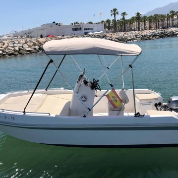 Hire Motorboat with or without skipper Ribera Puerto Marina Benalmadena
