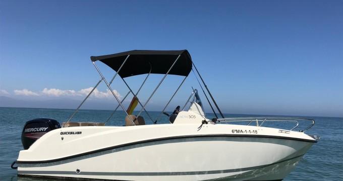 Rental yacht Puerto Marina Benalmadena - Quicksilver Quicksilver 505 Open on SamBoat
