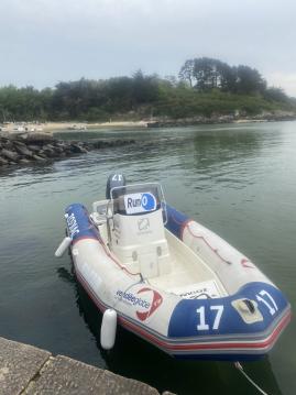 Zodiac Pro Open 650 between personal and professional La Trinité-sur-Mer