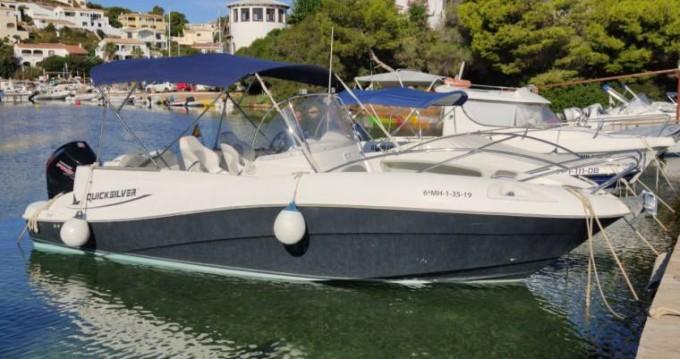 Rental Motorboat in es Mercadal - Quicksilver Quicksilver 720 Commander