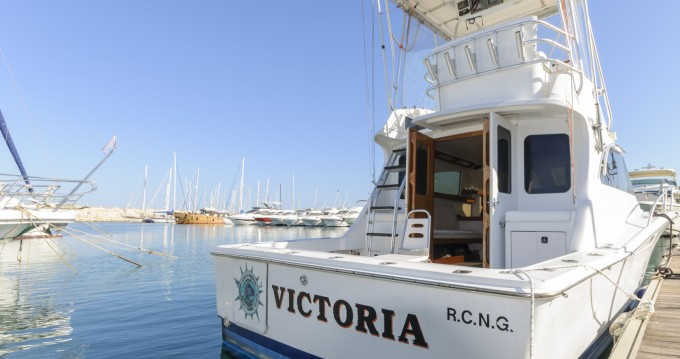 Boat rental Dénia cheap 32