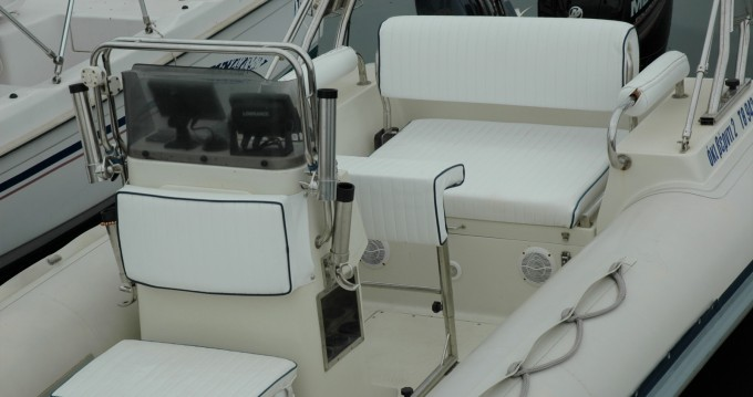 Hire RIB with or without skipper Evripus Syvota