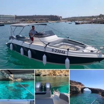 Rental Motorboat in Sliema - Eolo Eolo 830 Day /efb