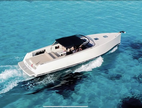 Boat rental Ibiza Island cheap VanDutch 40