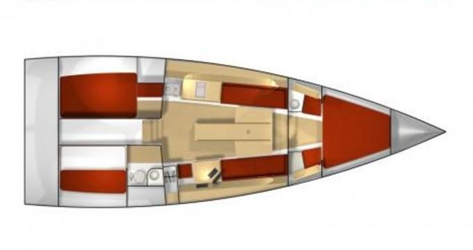 Rental yacht Olbia - Pogo Structures Pogo 12.50 on SamBoat