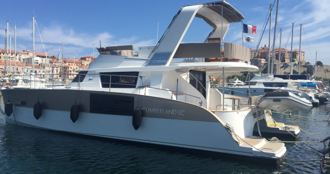 Hire Catamaran with or without skipper 1 Calvi