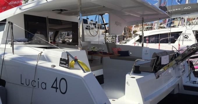 Catamaran for rent Calvi at the best price