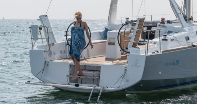 Boat rental Figari cheap Oceanis 38