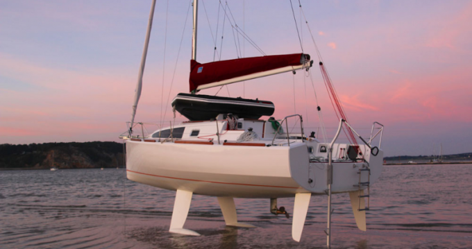 Rental Sailboat 70 with a permit
