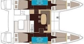Hire Catamaran with or without skipper 21 Le Marin