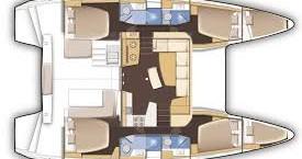 Rental Catamaran in Le Marin - 21 Lagoon 42