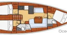 Boat rental Le Marin cheap Oceanis 41.1