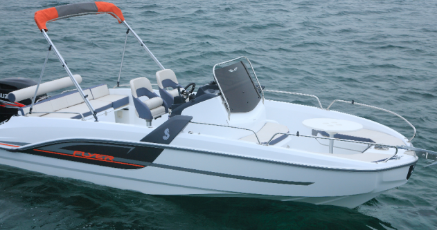 Rental Motorboat Bénéteau with a permit