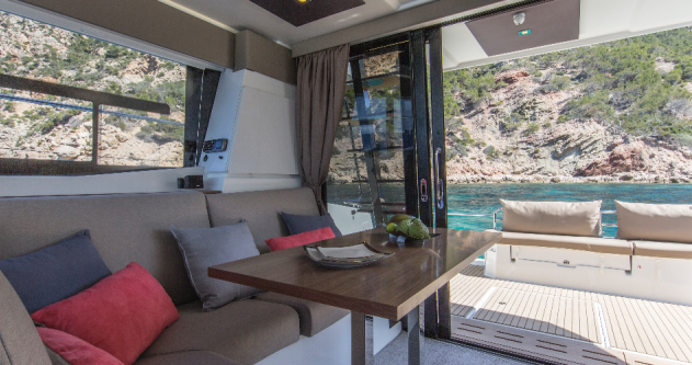 Fountaine Pajot My 37 between personal and professional Bandol
