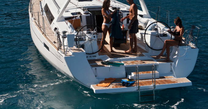 Boat rental Hyères cheap Oceanis 45