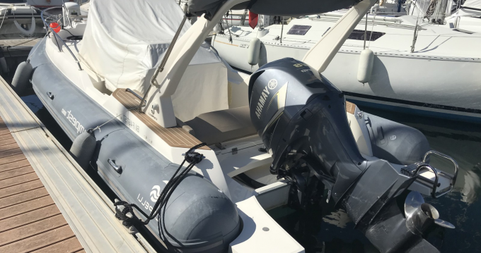 Hire RIB with or without skipper Capelli Sari-Solenzara