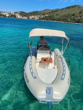 Hire RIB with or without skipper Lomac Port d'Alcudia