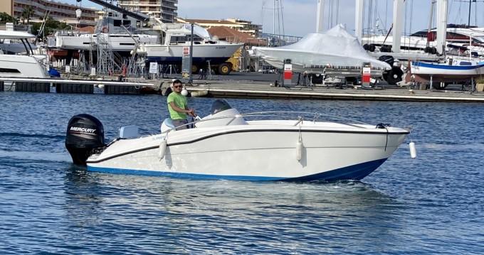 Boat rental Clear aries open 615 in Fréjus on Samboat