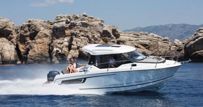 Rental Motorboat in Split - Jeanneau Merry Fisher 795