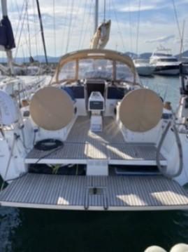 Boat rental Saint-Tropez cheap Dufour 382 Grand Large