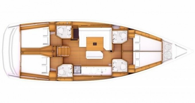 Jeanneau Sun Odyssey 479 between personal and professional Lefkada (Island)