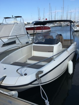Hire Motorboat with or without skipper Quicksilver Canet-en-Roussillon