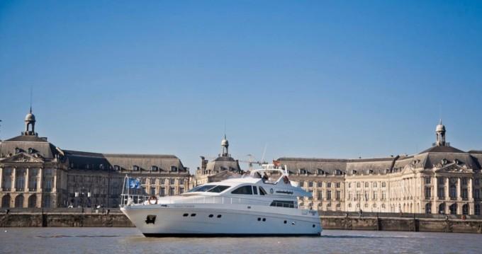Boat rental Bègles cheap Caliari 78