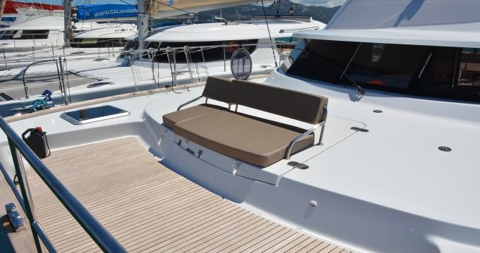 Rental Catamaran 1 with a permit