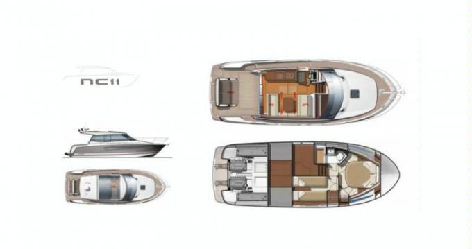 Rental yacht Arzon - Jeanneau JEANNEAU NC11 on SamBoat