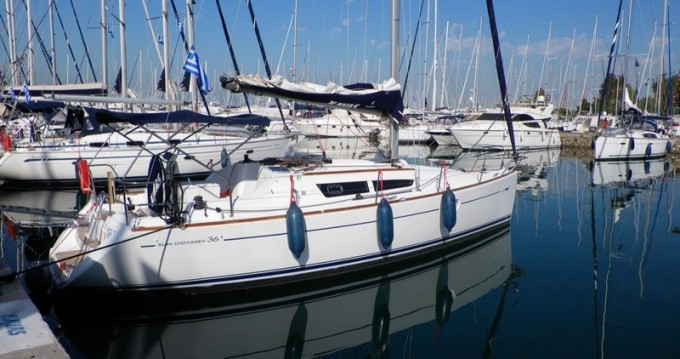 Rental Sailboat in Lefkada (Island) - Jeanneau Sun Odyssey 36.2