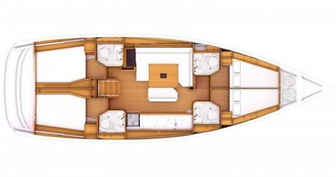 Rental yacht Lefkada (Island) - Jeanneau Sun Odyssey 469 on SamBoat