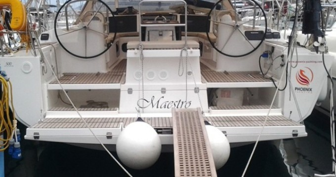 Boat rental Marmaris cheap Dufour 500 GL