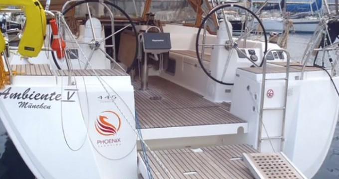 Boat rental Marmaris cheap Dufour 445 GL 6 pax