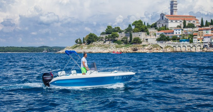 Hire Motorboat with or without skipper Sessa Marine Rovinj