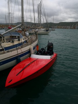 Rental Motorboat Nitra Boats with a permit