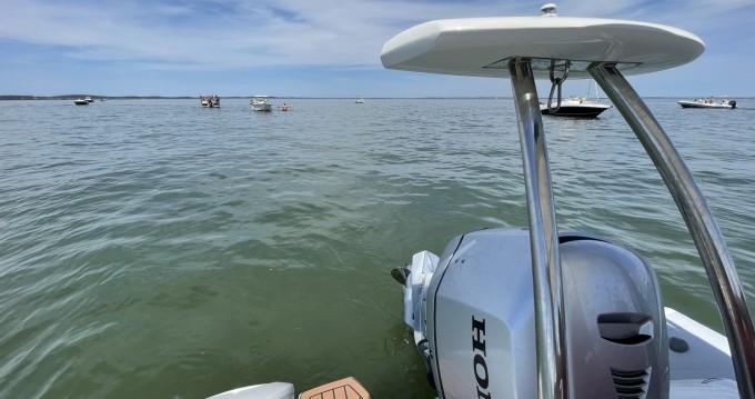 Boat rental Cap Ferret cheap Golden Line G650LF