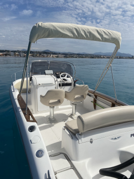 Rental Motorboat in Saint-Laurent-du-Var - Sessa Marine Key Largo 20