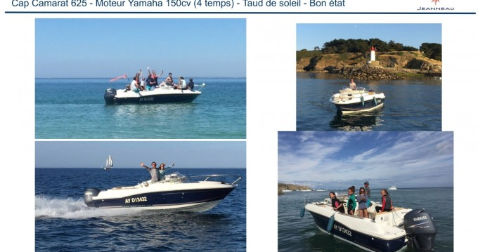 Hire Motorboat with or without skipper Jeanneau Le Palais
