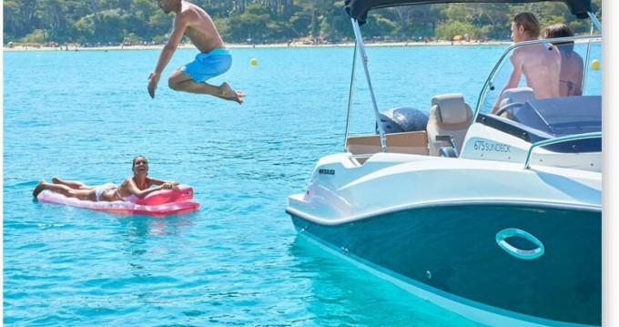 Rental Motorboat in Dénia - Quicksilver Activ 675 Open