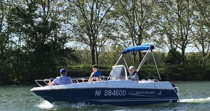 Rental Motorboat in Mâcon - Quicksilver Quicksilver 500 Commander