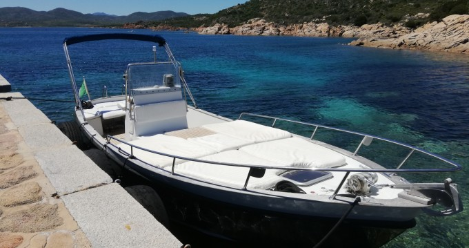 Rental Motorboat Cantieri-Parente with a permit